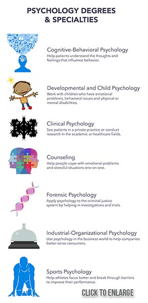 Types of Psychology Degrees   How to Choose a Degree in Psychology ...